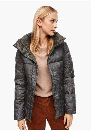 Winter jacket - khaki aop