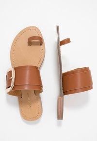 Tata Italia - Sandály s odděleným palcem - brown - 3