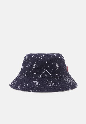 REVERSIBLE BANDANA BUCKET HAT UNISEX - Klobouk - navy blue