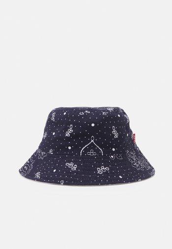 REVERSIBLE BANDANA BUCKET HAT UNISEX - Hat - navy blue