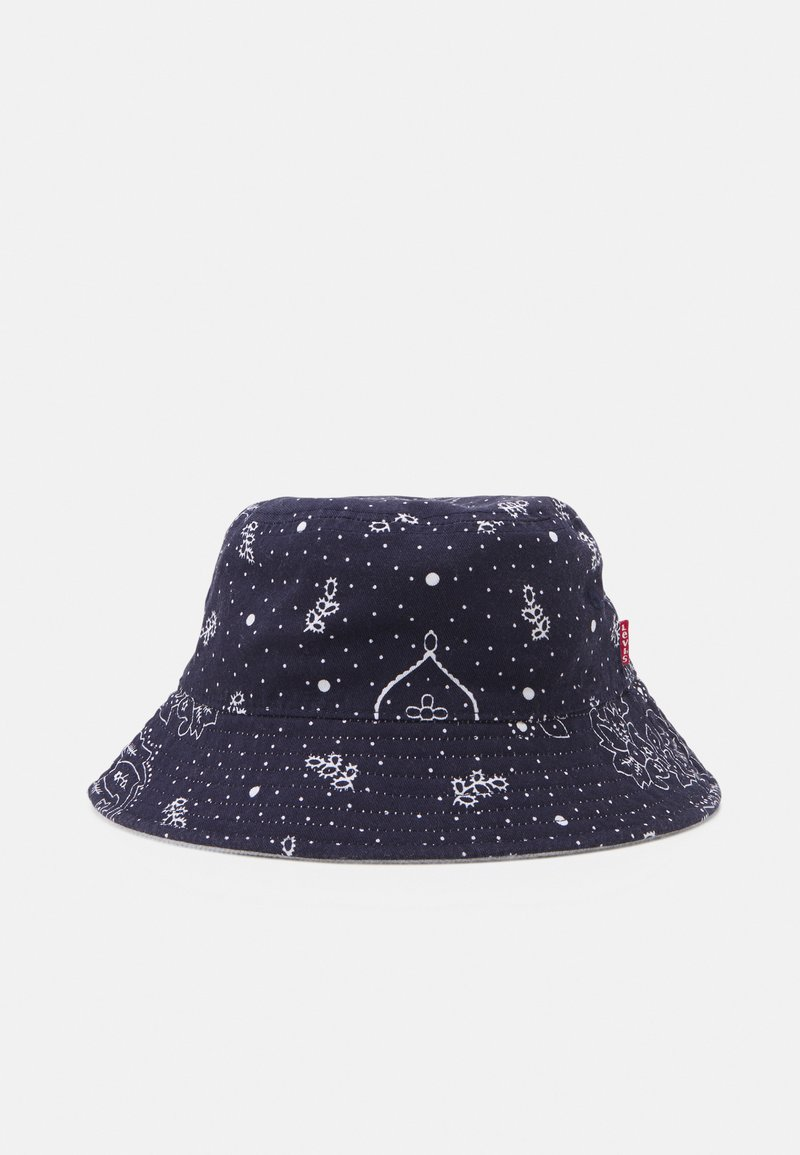 Levi's® - REVERSIBLE BANDANA BUCKET HAT UNISEX - Klobouk - navy blue