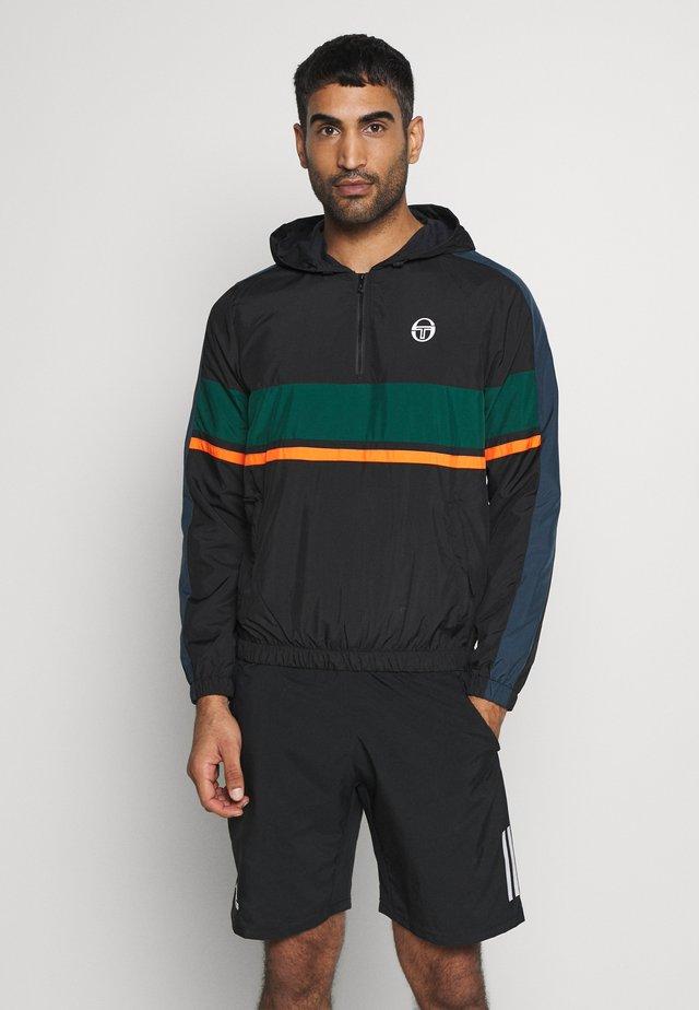 CABIX  - Training jacket - black/botanical