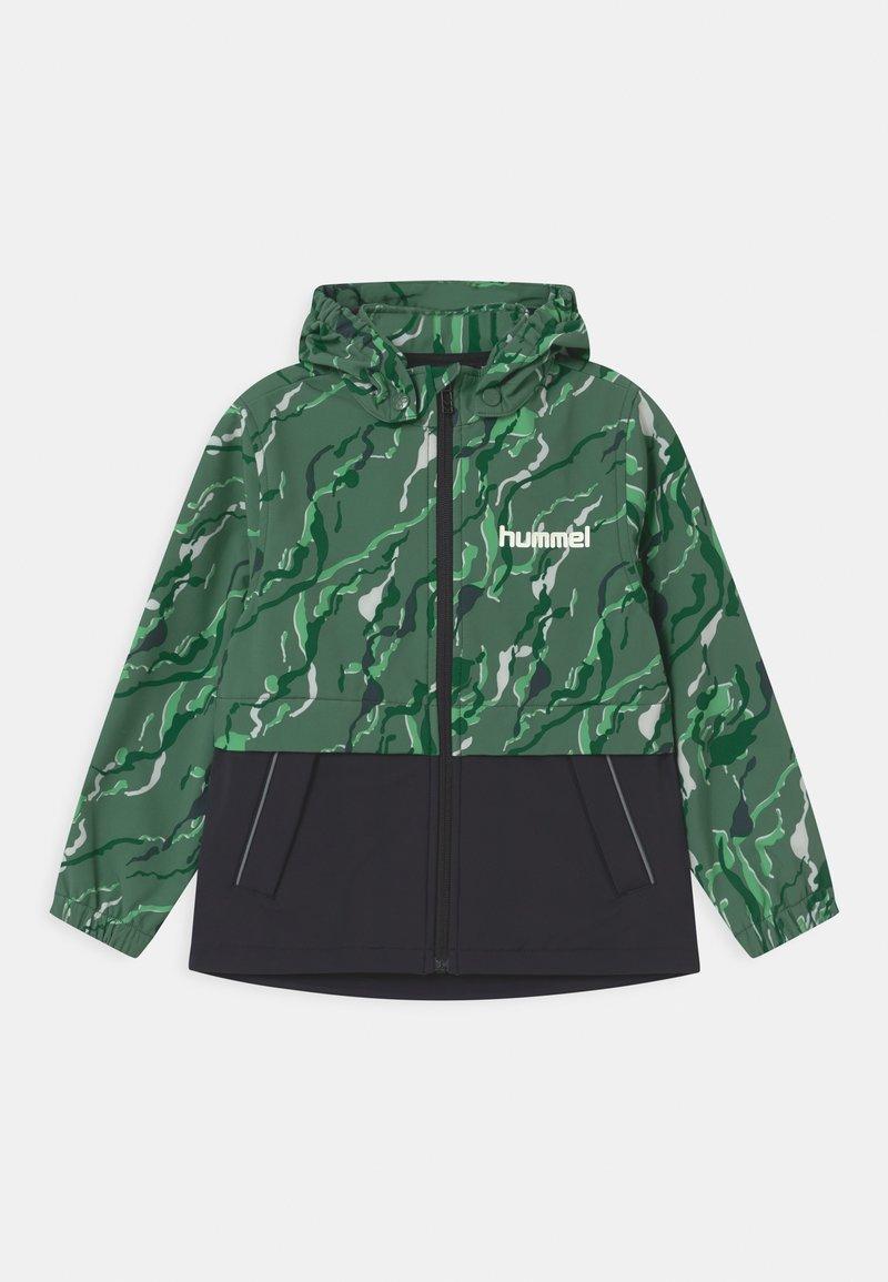 Hummel - CHUVA UNISEX - Soft shell jacket - green