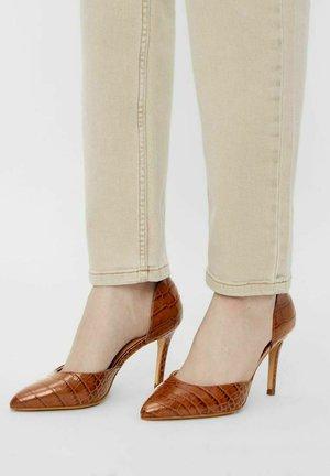 BIACAIT - High heels - cognac