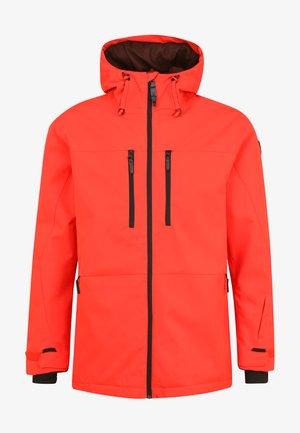 Ski jacket - fiery red