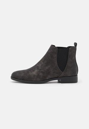 COMFORT - Kotníková obuv - gunmetal/black