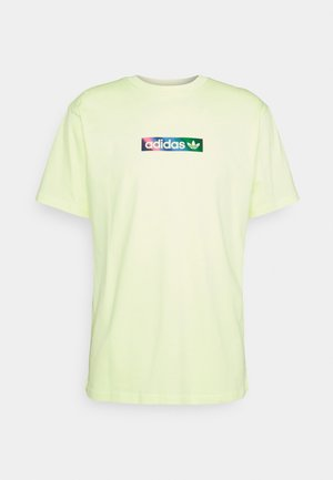 SUMMER BOX LINE - Print T-shirt - pulse yellow