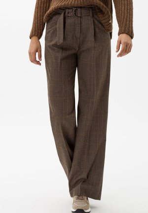STYLE MAINE - Trousers - walnut