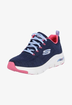 Trainers - blau - pink