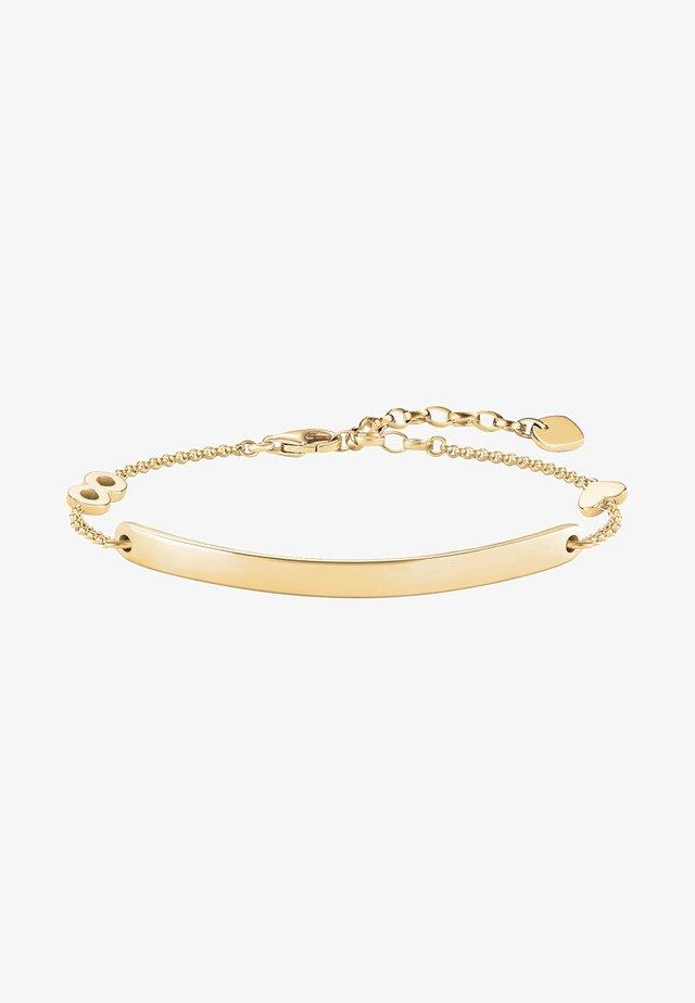HERZ MIT INFINITY  - Bracelet - gold-coloured