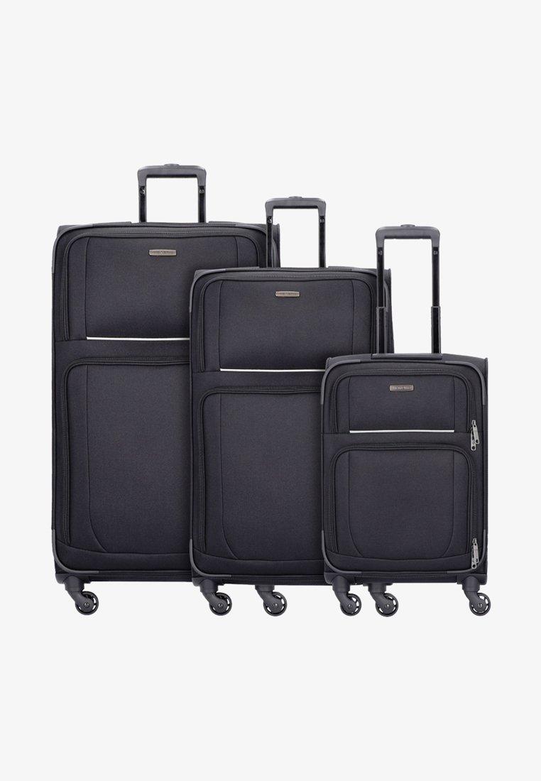 Travelite - 3  PACK - Luggage set - black