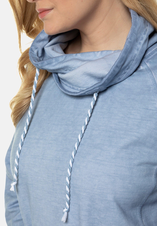 Ulla Popken Sweat à capuche - sky blue - Pulls & Gilets Femme 0iC5h