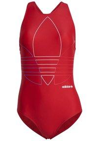 adidas Originals - Swimsuit - red - 8
