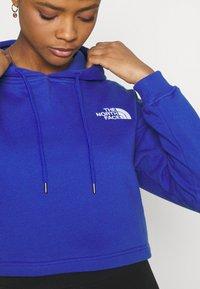 The North Face - TREND CROP DROP HOODIE - Sweatshirt - blue - 4