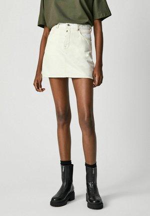 MADDIE MIX - A-line skirt - denim