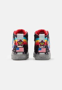 Skechers - SHUFFLE BRIGHTS - High-top trainers - black/multicolor/silver - 2