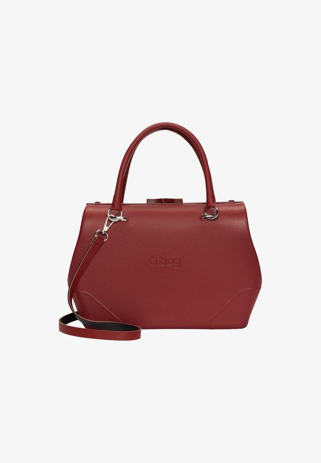 Handbag - ruby red