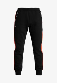 Lacoste Sport - PANT TAPERED - Tracksuit bottoms - black/corrida - 3