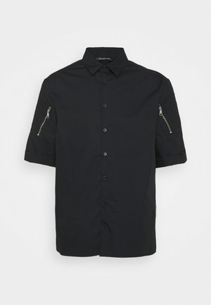 POCKETS ON SLEEVE - Camicia - black