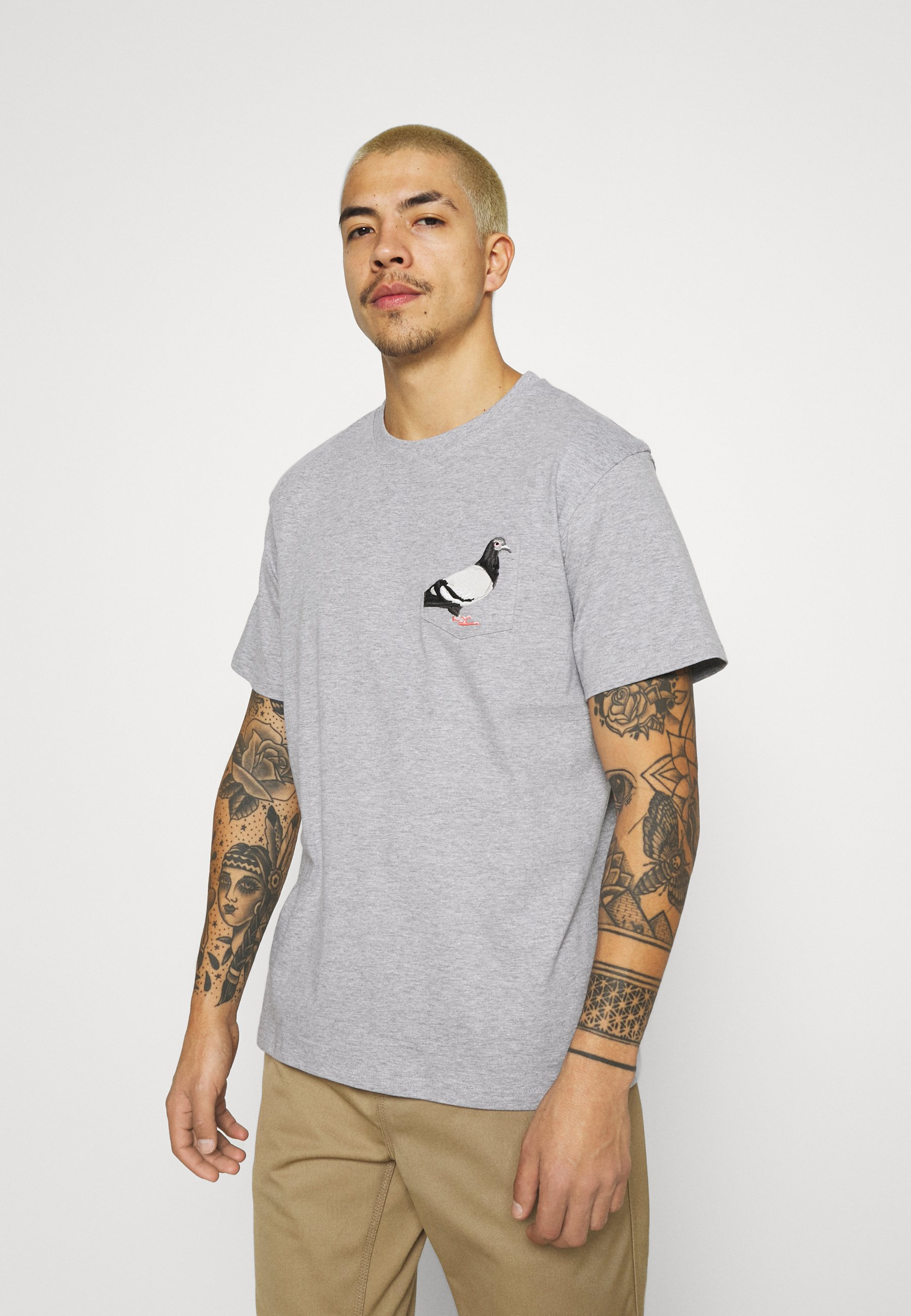 Women POCKET TEE UNISEX - Print T-shirt