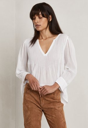 CARLA - Long sleeved top - off-white