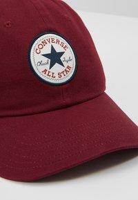 Converse - TIPOFF CHUCK BASEBALL UNISEX - Cap - burgundy - 2