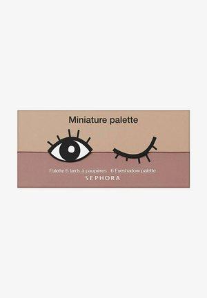 MINIATURE PALETTE COOKIE PALETTE MIT 6LIDSCHATTEN - Eyeshadow palette - Pink