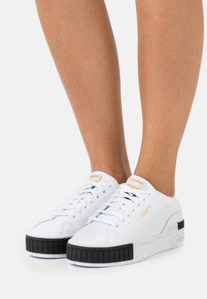 CALI SPORT CLEAN  - Sneakers laag - white/black