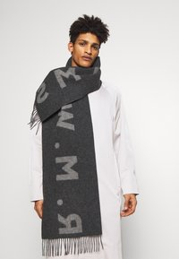 R. M. WILLIAMS - LOGO SCARF - Scarf - charcoal - 0