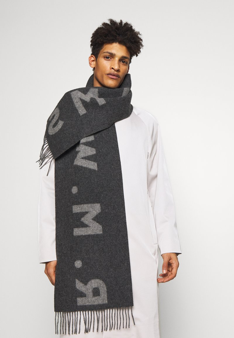 R. M. WILLIAMS - LOGO SCARF - Scarf - charcoal
