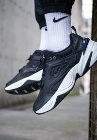 Nike Sportswear - M2K TEKNO - Trainers - black/offwhite/obsidian - 7