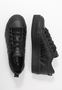 adidas Originals - NIZZA SPORTS INSPIRED SHOES - Trainers - core black - 5