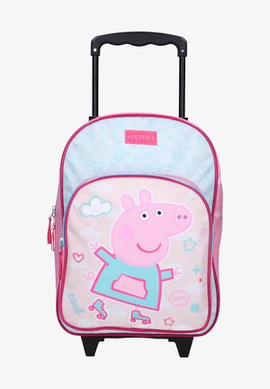 PAPPA PIG - Wheeled suitcase - rosa