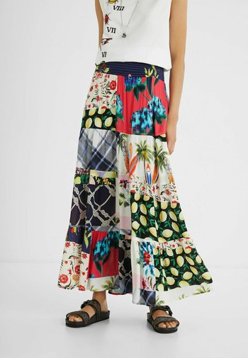 Jupe longue - multicolor