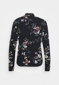 Cream - DIBA TURTLENECK - Long sleeved top - black/white - 1