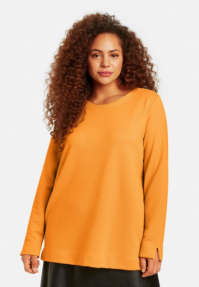 Long sleeved top - butterscotch