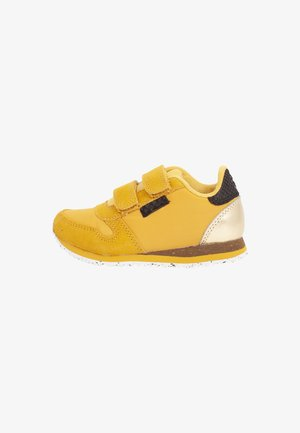 NOR SUEDE - Sneakersy niskie - yellow