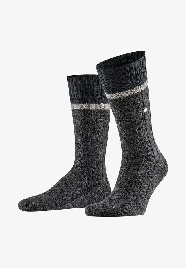 Socks - anthra mel