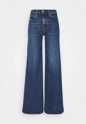 D-AKEMI - Flared jeans - indigo