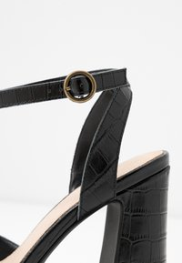 Anna Field - LEATHER HEELED SANDALS - Sandales à talons hauts - black - 2