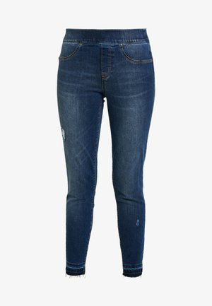 DISTRESSED - Jeansy Skinny Fit - medium wash