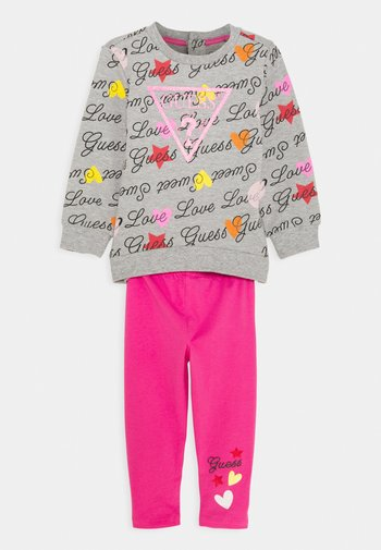 ACTIVE SET - Sweater - pink