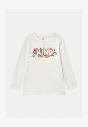 STEVIE EMBELLISHED - Long sleeved top - vanilla