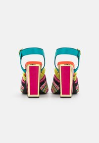 Kat Maconie - ARIEL - High heeled sandals - lagoon/multicolor - 3