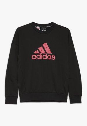 CREW - Sweatshirt - black/pink