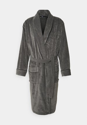 BATHROBE - Dressing gown - grau