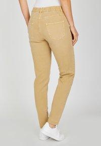 Angels - TAMA - Straight leg jeans - sand - 2
