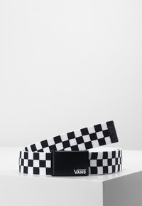 Vans - DEPPSTER BELT - Pasek - black/white - 0