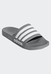 adidas Performance - ADILETTE CLOUDFOAM SLIDES - Pool slides - grey - 3