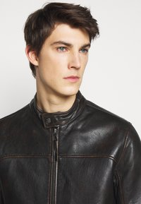 JOOP! Jeans - CLEARY - Leather jacket - brown - 3